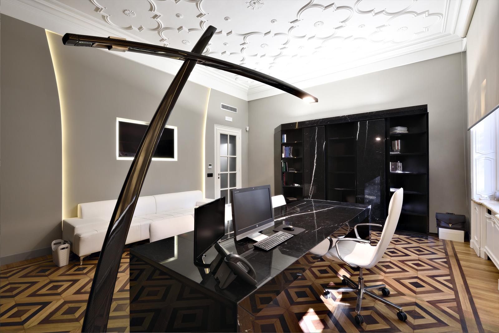 ufficio lusso progettazione
